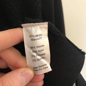 CAbi Sweaters - CAbi #201 Black Bomber Sweater Jacket Zip